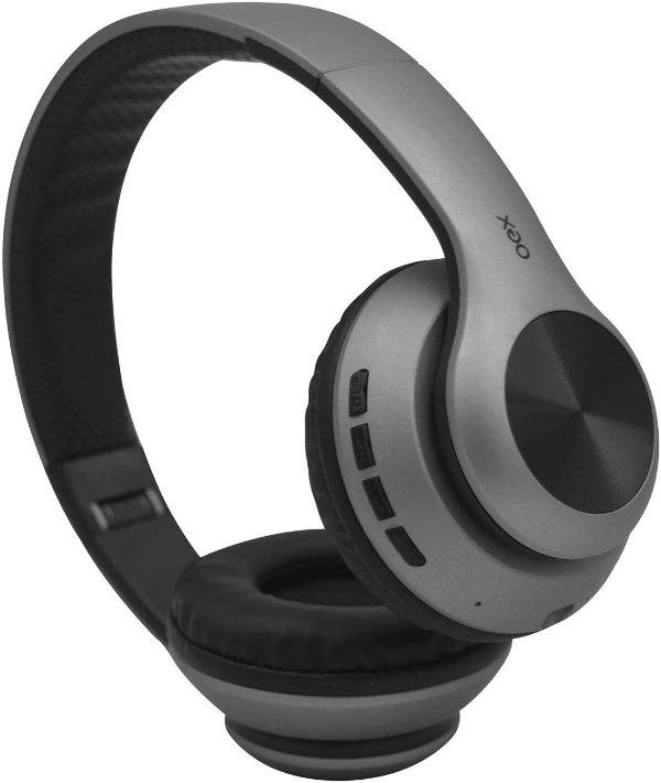 Headset Glam HS-311 sem fio OEX - Chumbo