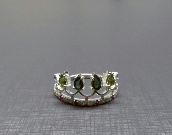 Anel coroa de Miss