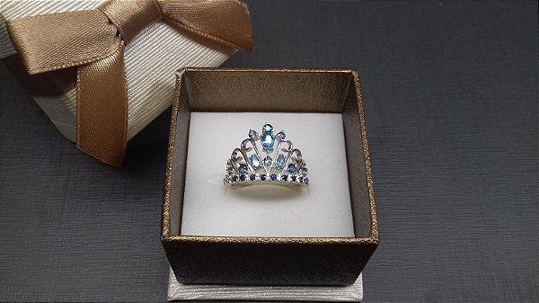 Anel coroa Laura