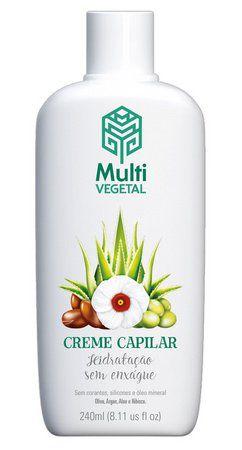 Creme Capilar de Oliva com Argan - 240mL