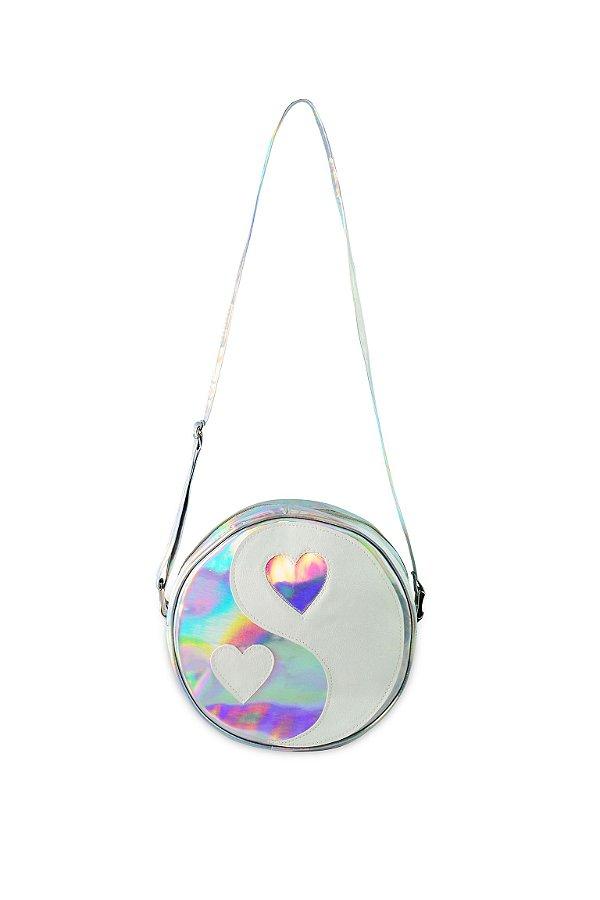 Bolsa Redonda Holográfica