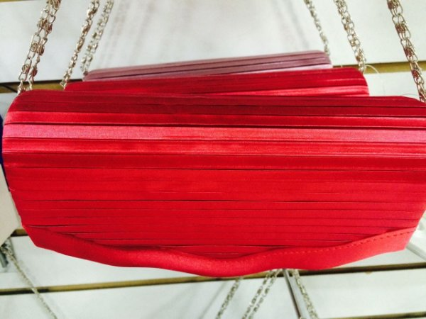 Carteira Vermelha Listrinha
