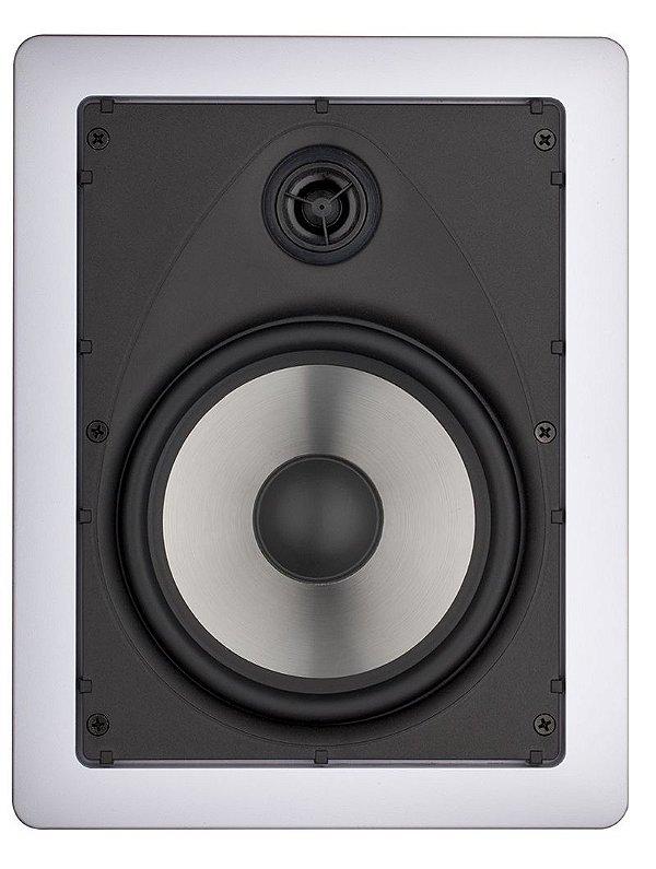 Arandela Loud 6'' Retangular LR6 100W 2 Vias Branca
