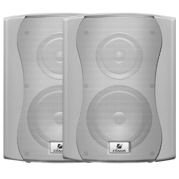 Caixa de Som Acústica Frahm Ps 6 Plus 120W Rms Branca Par