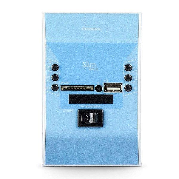 Amplificador De Parede Frahm Slim Wall Azul