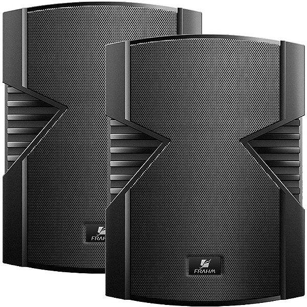 Caixa de Som Acústica Frahm PS 5S 80W Rms Preta Par