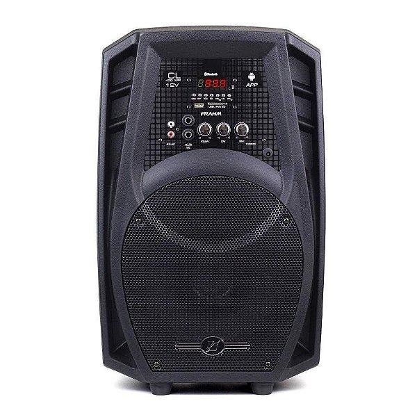 Caixa De Som Amplificada Multiuso Frahm Cl 400 App 12v - Bluetooth USB SD FM - 80W Rms