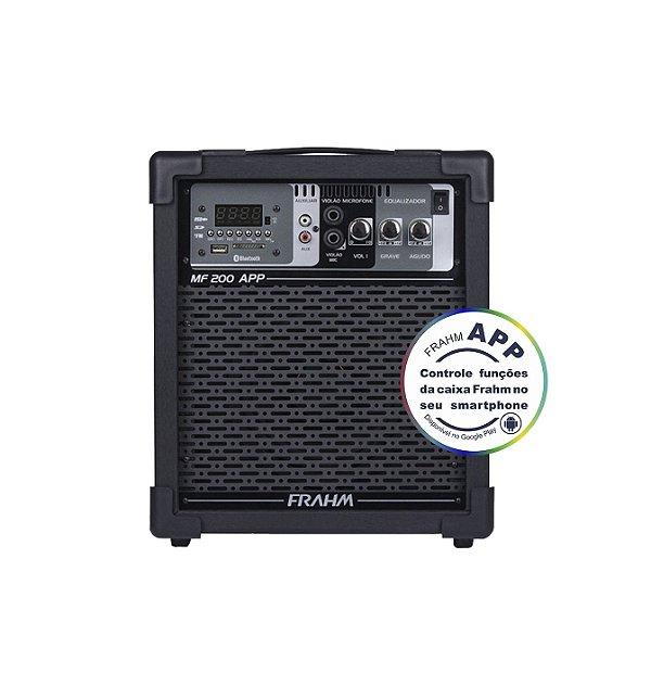 Caixa de Som Amplificada Multiuso Frahm MF 200 APP