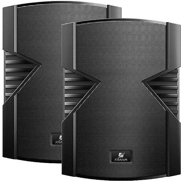Caixa de Som Acústica Frahm PS 6S 100W Rms Preta Par