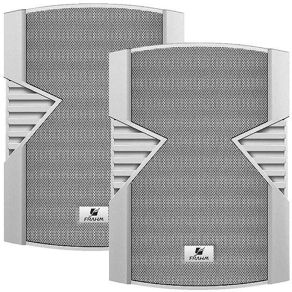 Caixa de Som Acústica Frahm PS 4S 60W Rms Branca Par