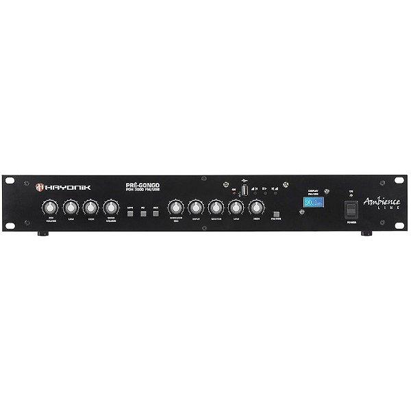 Pré Gongo Hayonik Ambience Line PGH 3000 FM USB Preto