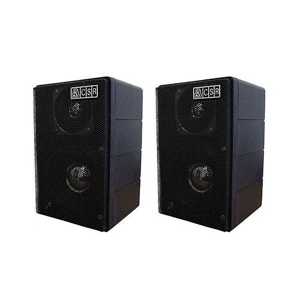 Caixa de Som Acústica CSR 75 M Passiva 80W Rms Preta Par