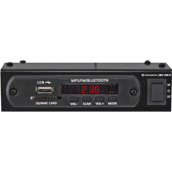 Módulo Pré Amplificador Hayonik 1000BT FM, Bluetooth, USB, MP3