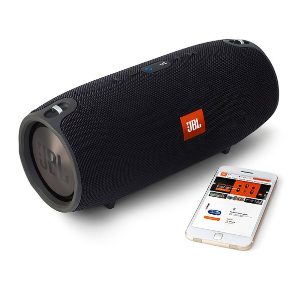 Caixa de Som Portátil JBL Xtreme Bluetooth À Prova D'água 40W