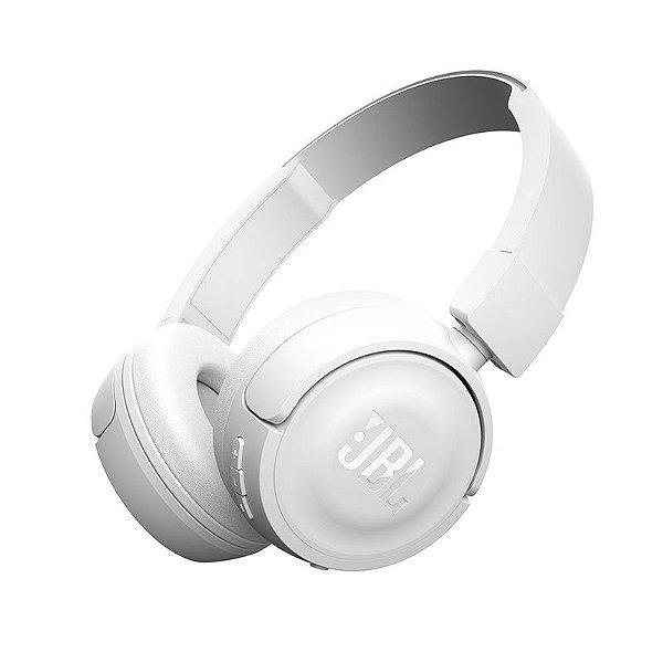 Fone De Ouvido JBL T450 Bt Sem Fio Bluetooth Branco