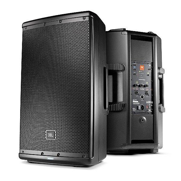 Caixa de Som Acústica JBL EON612 Ativa 1000W Preta