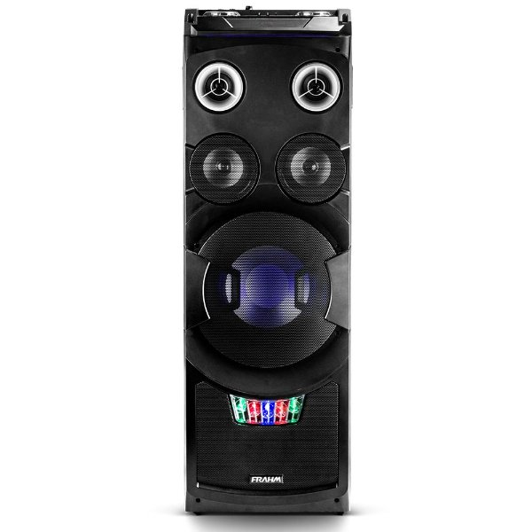 Mini System Torre Frahm TWS5000 Bluetooth USB FM DJ Control