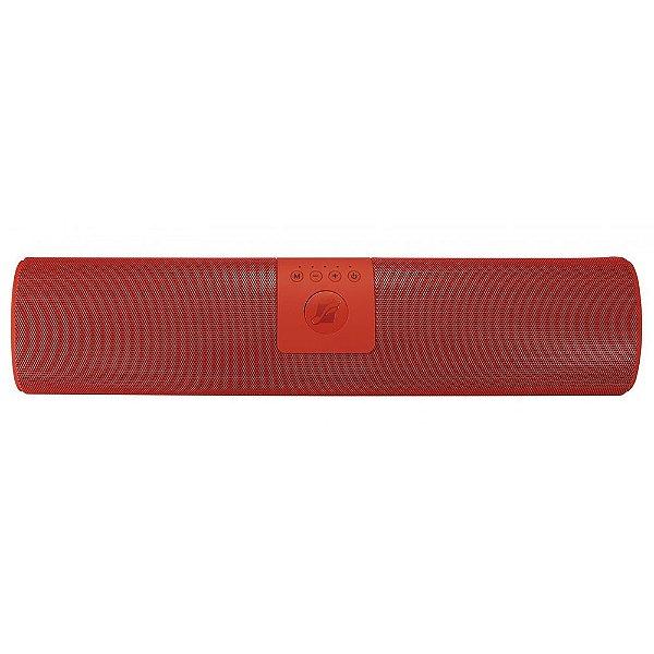 Caixa de Som Portátil Frahm SB215 BT Vermelha