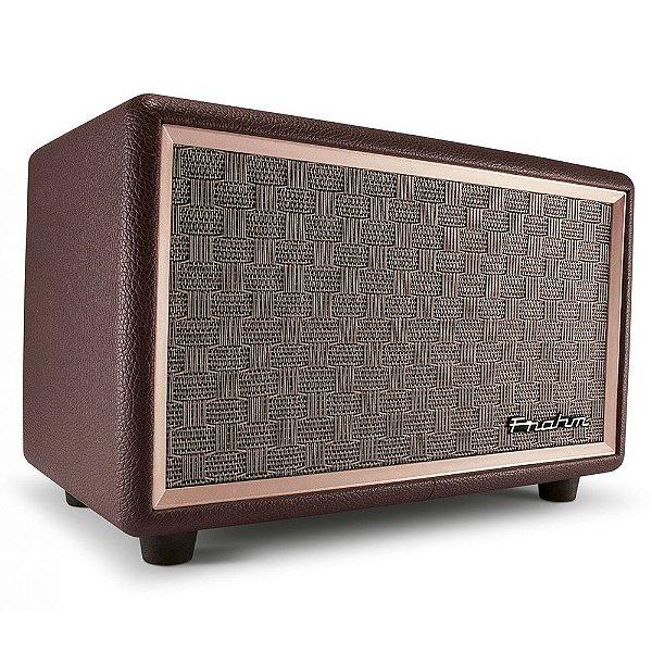 Caixa de Som Portátil Frahm Vintage VS230 BT Bluetooth 60W Rms
