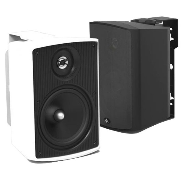 Caixa Acústica Absolute AQ5 Indoor/Outdoor 140 Watts Preta Par