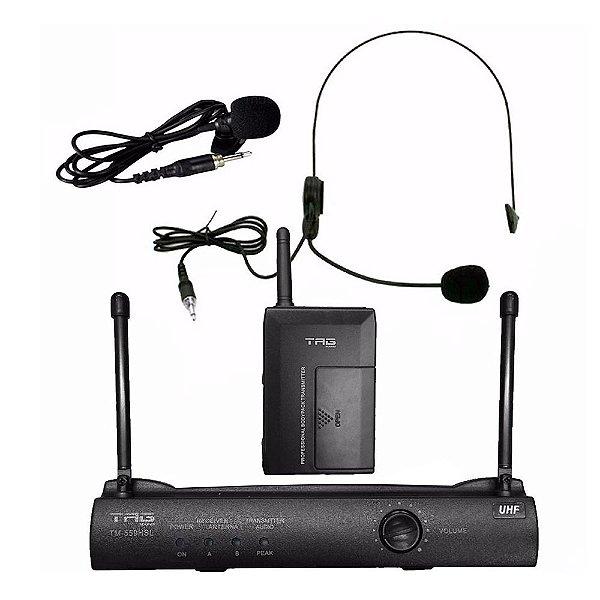 Microfone Lapela Tag Sound Tagima TM559HSL UHF Sem Fio Bivolt
