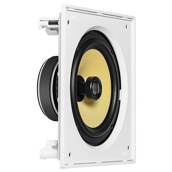 Arandela JBL CI8S Quadrada De Embutir 100W Rms Coaxial Branca