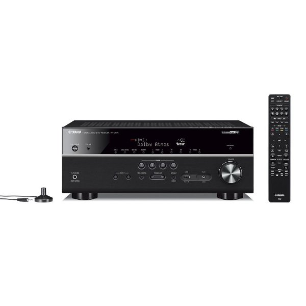 Receiver Yamaha RX-V685 BL 7.2 4k Zona 2 Phono Hdmi Ultra Hd