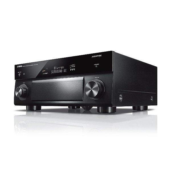 Receiver Yamaha Aventage RX-A1080 BL 7.2ch Wi-Fi MusicCast Airplay Bluetooth 4K UltraHD