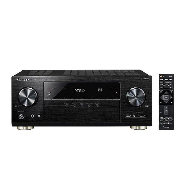 Receiver Pioneer VSX-1131 7.2ch 4K UHD DolbyAtmos DTS:X HDR BT Wifi Zona2 Phono 110v