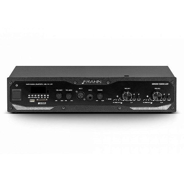 Amplificador Frahm Profissional GR 5000 APP Bluetooth USB SD FM