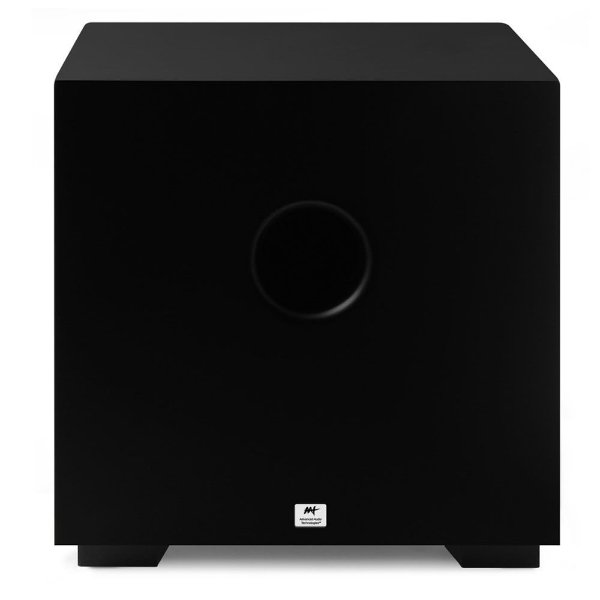 """Subwoofer Ativo AAT Compact Cube 8"""" 200W Rms Preto"""