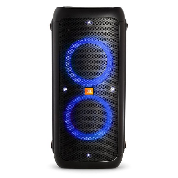 Caixa de Som Portátil JBL Party Box 300 Bluetooth LED USB Bateria 18h 120W Rms
