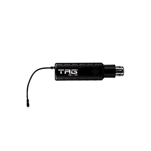 Transmissor sem fio TG-88TR c/ freq variavel UHF p/ microfone de cabo