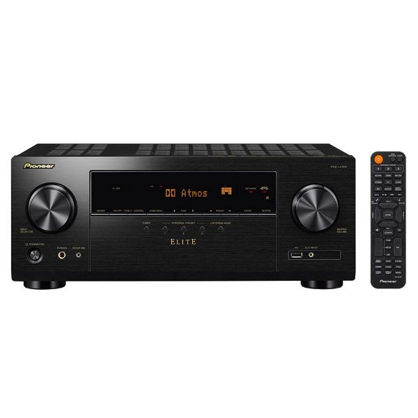 Receiver Pioneer Elite VSX-LX104 7.2ch 4K UltraHD HDR10 BT Zona 2 Wifi 110V