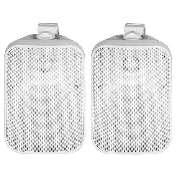 Caixa Acústica AAT OS120-IP56 À Prova D' Água Outdoor Branca Par