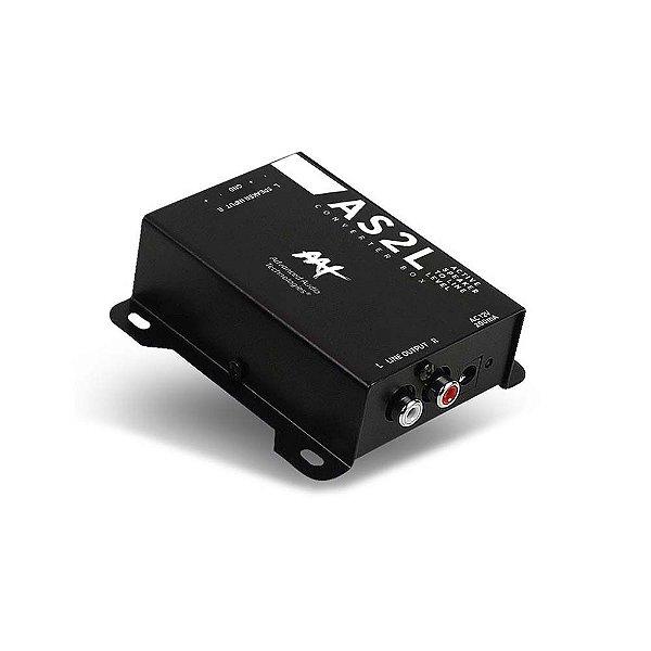 Conversor de Linha AAT Active Speaker to Line Level Converter Box