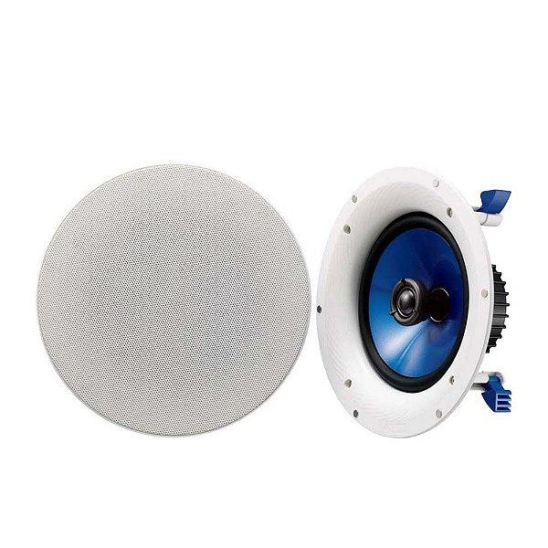 """Caixa Acústica De Embutir Yamaha NS-IC800 8"""" 140W Branca Par"""