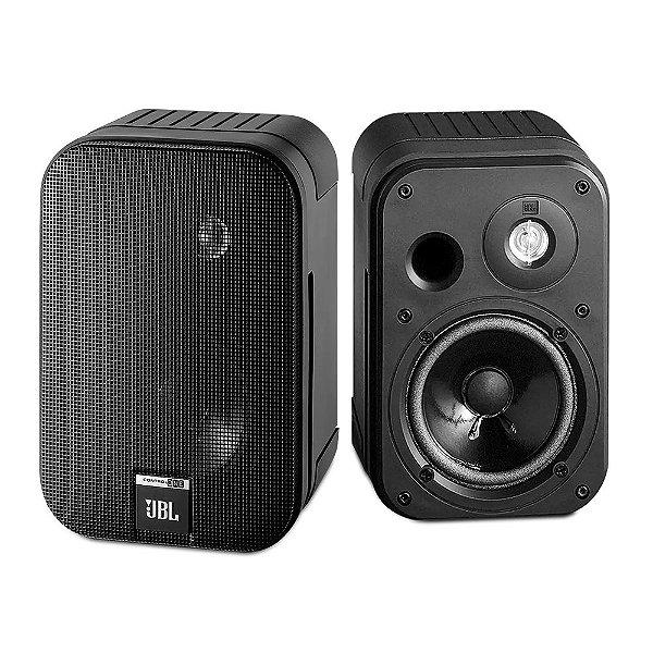 Caixa Acústica JBL Control One 2 Vias Preta Par