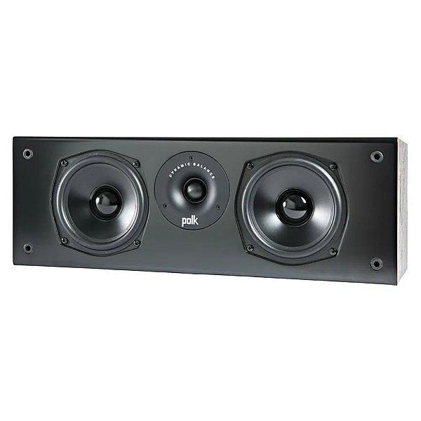 Caixa Acústica Polk Audio T30 Central 2 vias Preta