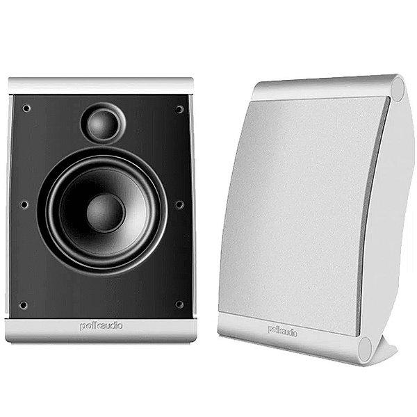Caixa Acústica Polk Audio OWM3 Ultra Versátil Branca Par