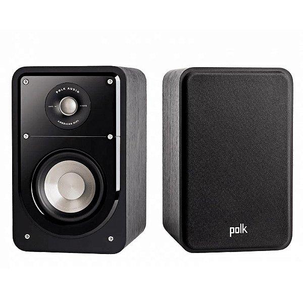 Caixa Acústica Polk Audio Signature S15 Bookshelf Preta Par