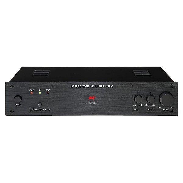 Amplificador AAT PMR-3 Multizona 2 Canais 1 Zona Estéreo