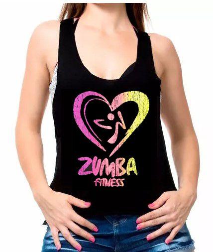 6a46d923c Regata Fitness Feminina Linda Com Frases de Academia zumba ...