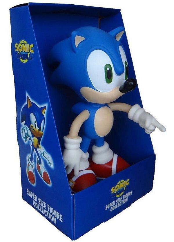 Boneco Super Sonic Vinil Articulado 23cm