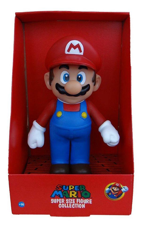 Boneco Super Mario Vinil Articulado 23cm
