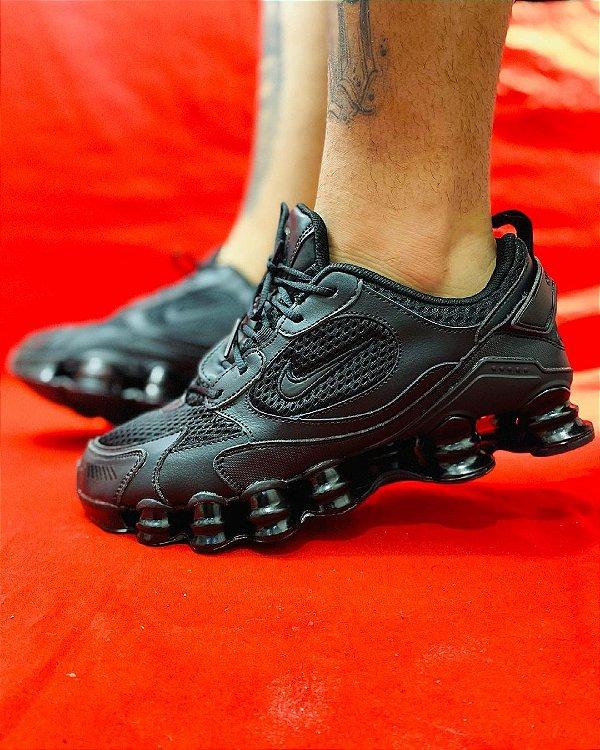 Ténis Nike Shox TL 12 Molas Preto Frete Grátis