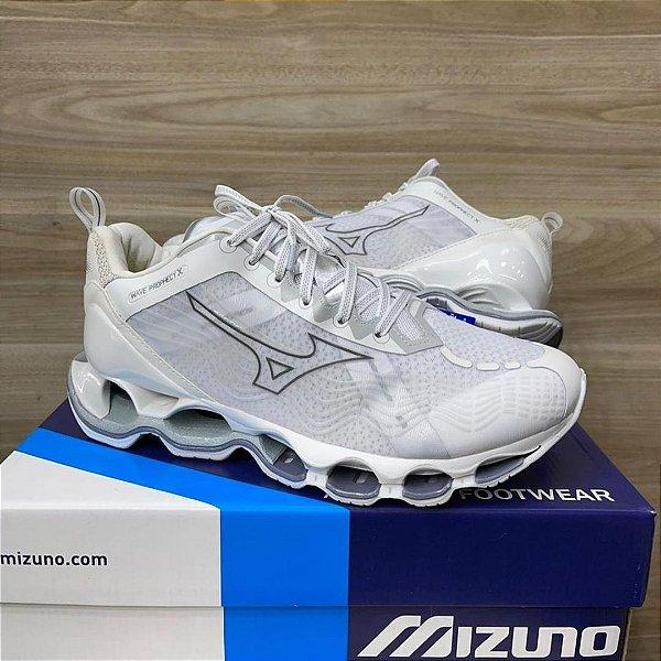 Tênis Mizuno Wave Prophecy X Branco Masculino Frete Grátis