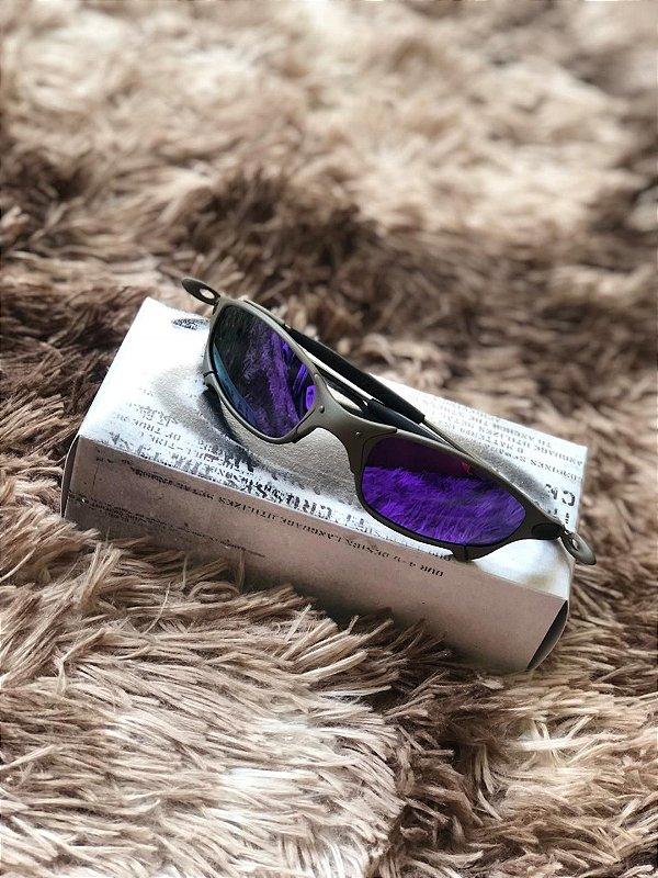 Óculos Oakley Juliet Lente Roxa Frete Grátis