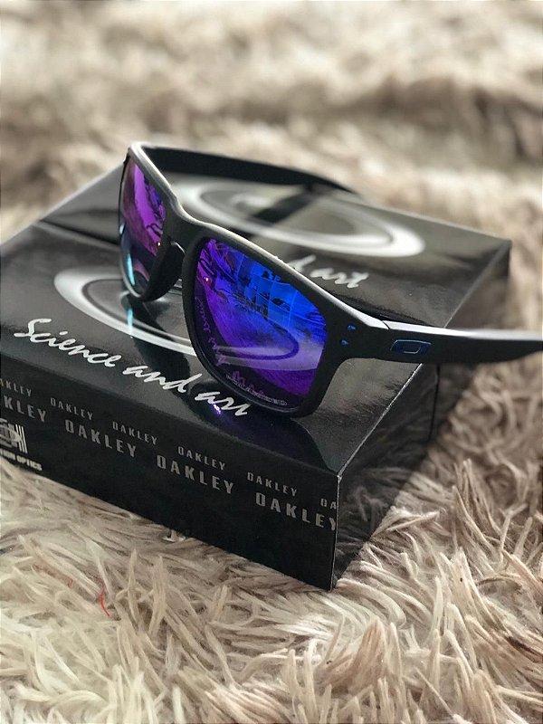 Óculos Oakley Holbrook Azul Escuro Frete Grátis