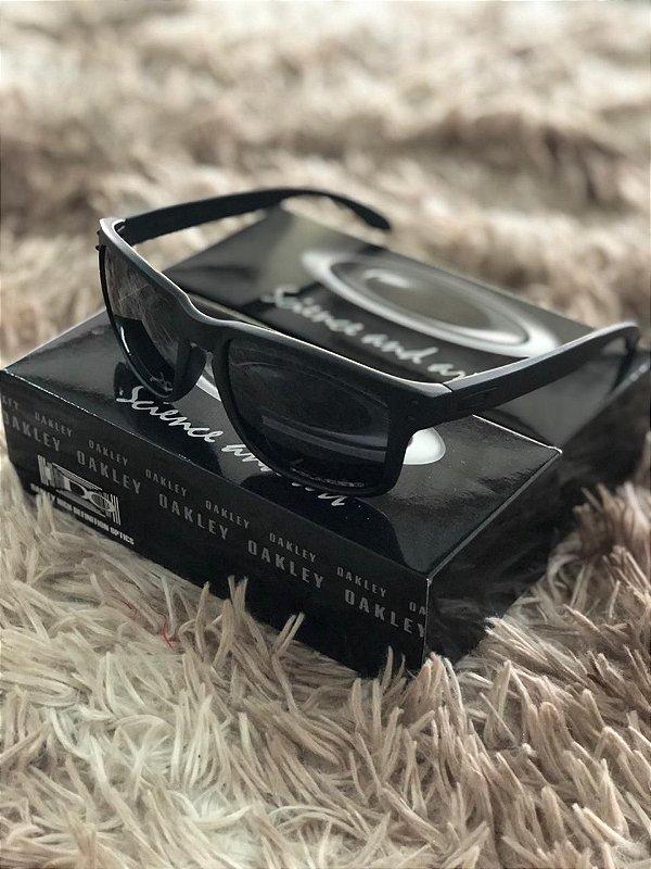 Óculos Oakley Holbrook Lente Preta Frete Grátis